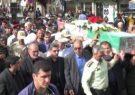 تشییع پیکر مطهر شهید مدافع امنیت «محمد محمودزاده خیارک»