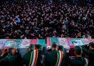 پیکر مطهر شهیدان عشریه و ثامنی راد در دانشگاه امام حسین (علیه السلام) تشییع شد