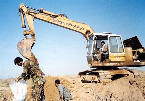 چند سکانس از تفحص شهدا در کردستان عراق