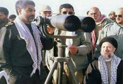 تصویری کمتر دیده شده از شهید حکیم و سردار حاج قاسم سلیمانی