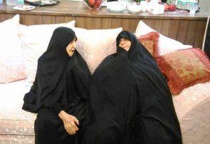 مادر شهیدان علی و جعفر جنگروی به فرزندان شهیدش پیوست