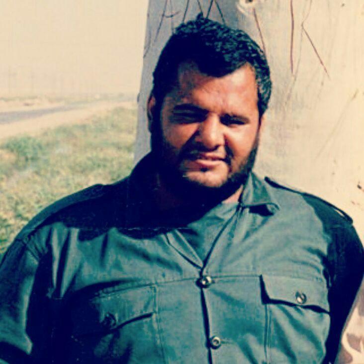 مراسم خاکسپاری شهید سید مجید هاشمی در گلزار شهدای تهران