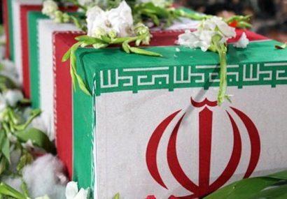 مراسم هفتم سردار سرتیپ شهید حاج حمید رضا میرزایی