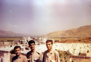 ساخت بیمارستان صحرایی مریوان در دفاع مقدس