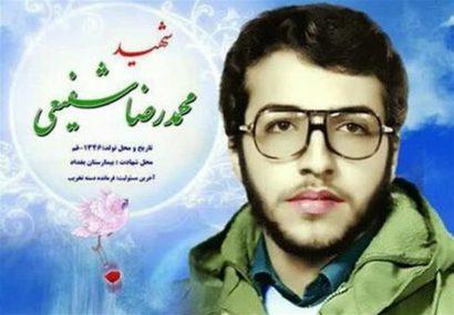 شهیدمحمد رضا شفیعی
