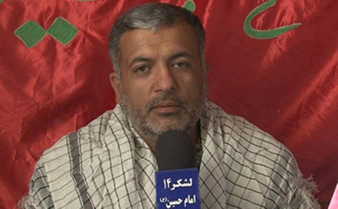 شهید مدافع حرم سید یحیی براتی