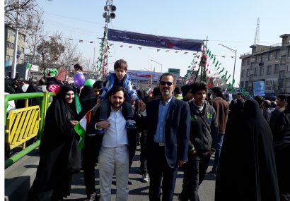 نخستین جشن ۲۲ بهمن ، بدون شور و شعار راهپیمایی