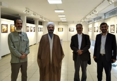 افتتاحیه نمایشگاه بهشت بقیع خانه عرش الهی