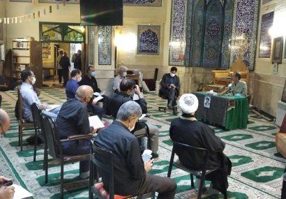 نشست هماهنگی فعالان و مسئولان ستاد مردمی منطقه ١٣ آیت الله رییسی
