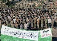 نماز عید سعید فطر در جبهه