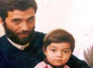 دلگرمی محبتآمیز شهید ورامینی برای فرزند خردسالش/ تبیین فلسفه جهاد در نامه شهید ورامینی